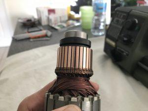 Rotor terminé