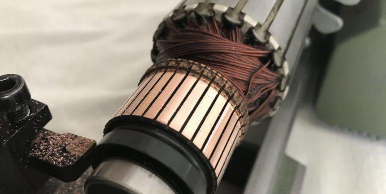 Rectification d'un rotor de moteur électrique