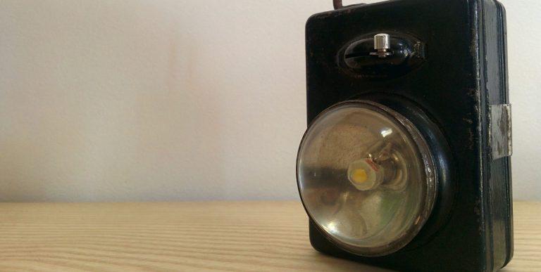 Lampe de poche ancienne – 1930