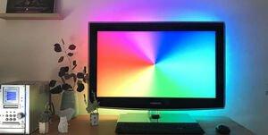 Ambilight DIY, lumière d'ambiance pour TV