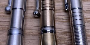 Stylo en métal<br>Tournage de «précision»