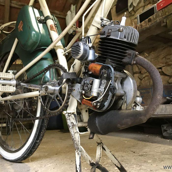 Le moteur VAP 57 dans son ensemble