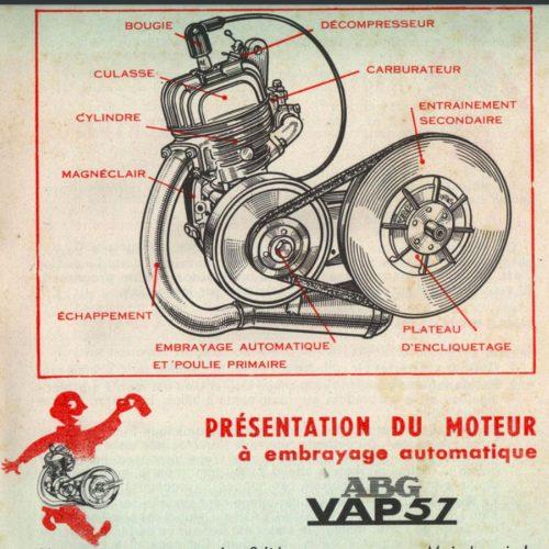 Moteur VAP 57